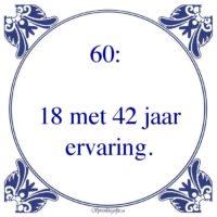 Spreuken 60 Jaar