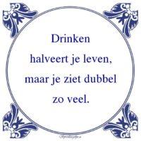 Drank-Drinkenhalveert je leven