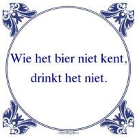 Drank-Wie het bier niet kent