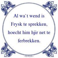 Friestalig-Al wa`t wend isFrysk te sprekken