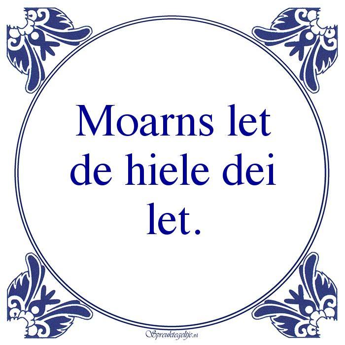 Friestalig-Moarns letde hiele deilet.