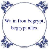 Friestalig-Wa in frou begrypt