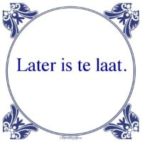 Pikant 18+-Later is te laat.
