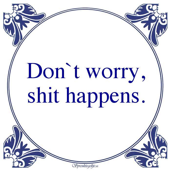 Relatie-Don`t worry