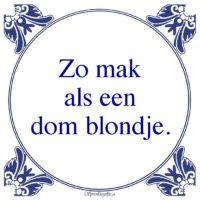 Relatie-Zo makals eendom blondje.